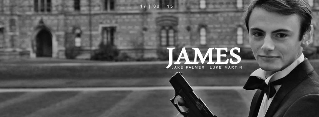 James banner